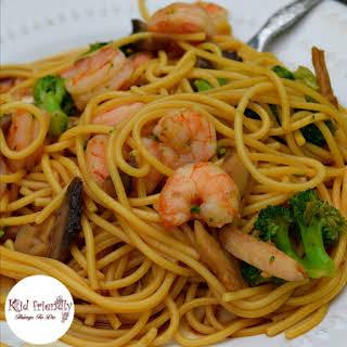 Spaghetti Noodle Lo Mein.
