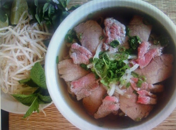 Pho(vietnamese/camb Rice Noodle Soup Or Ga- Tieu Recipe