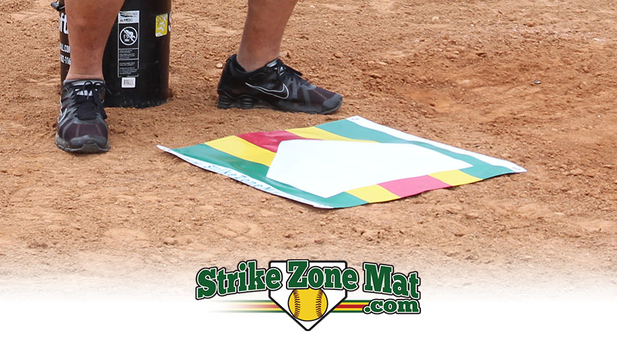 Strike Zone Mat Pitching Training Aid