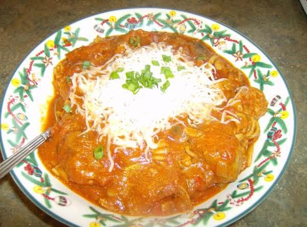 Italian Sausage Pizza Soup Recipe
