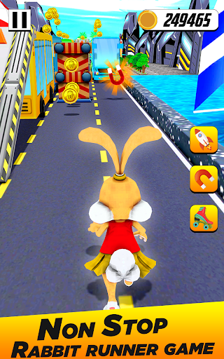 Bunny Runner: Subway Easter Bunny Run 3 screenshots 5