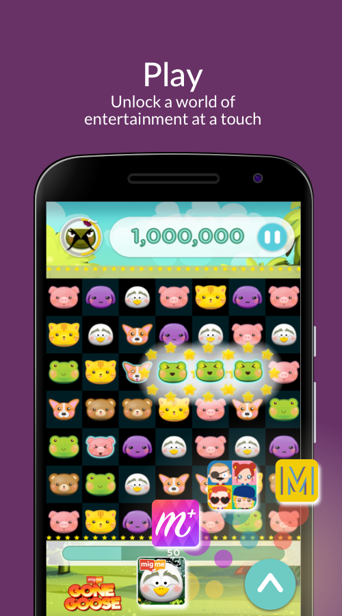 migme - chat, play & have fun- screenshot