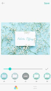 Palette Tiffany Screenshot
