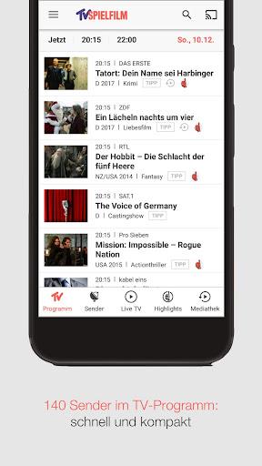 TV SPIELFILM - TV-Programm mit LIVE TV 6.7.0 gameplay | AndroidFC 2