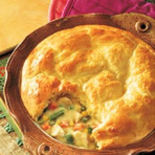 Easy Turkey Pot Pie.