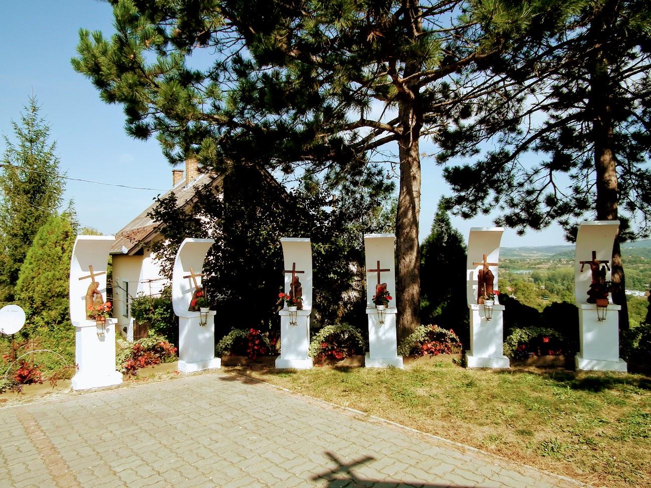 Zalaegerszeg - Jánkahegyi kálvária a keresztúttal