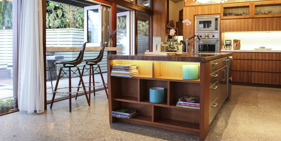 Modern retro konyha a '70-es évek stílusában