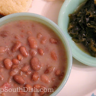 Classic Southern Pinto Beans.