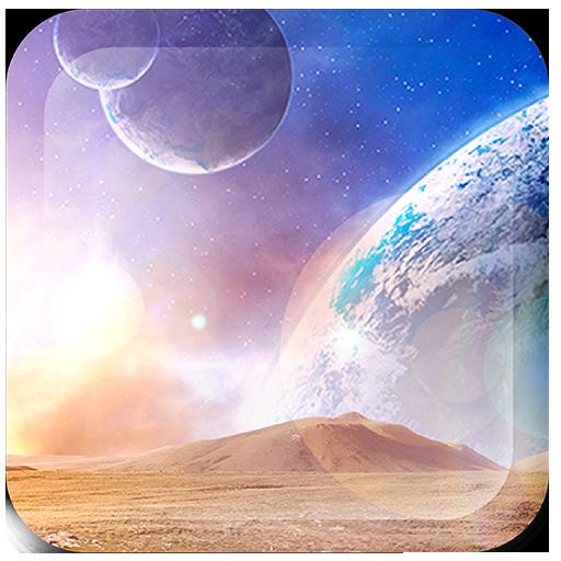 Space World Live Wallpaper Pro Icon
