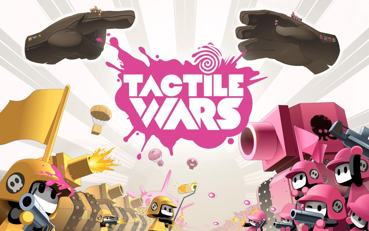 Écran d'accueil de Tactile Wars.