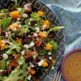 Harvest Salad with Sugared Pecans