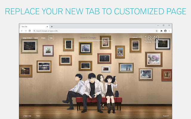 Sing Yesterday For Me Wallpaper Sing Yesterday For Me Anime New Tab
