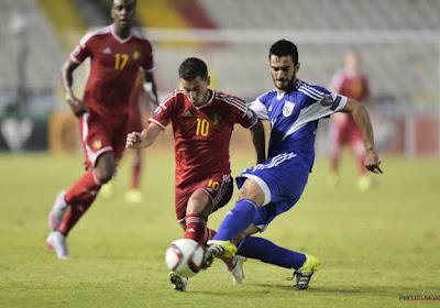 Avant Chypre - Belgique, Konstantinos Laifis estime qu'Eden Hazard et Romelu Lukaku sont les plus difficiles à arrêter