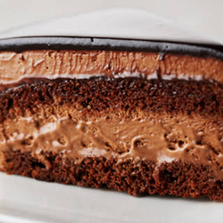 Rich Chocolate Mousse Cake.