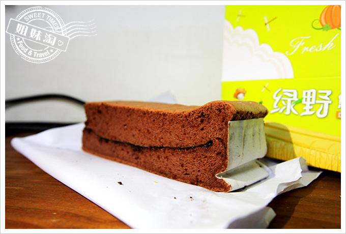 綠野鮮蛋糕-爆漿巧克力蛋糕