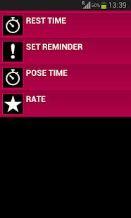 10 Daily Yoga Poses Screenshot