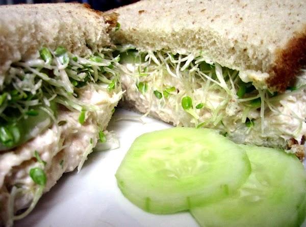 Chicken Salad & Cucumber Sandwich Recipe