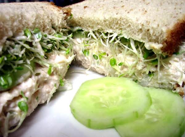 Chicken Salad & Cucumber Sandwich Recipe