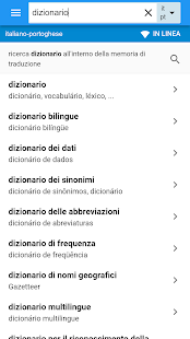 Portoghese-Italiano Dizionario - náhled