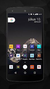 KubeX premium icon pack Screenshot