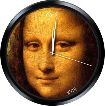 Mona Lisa Watch Face