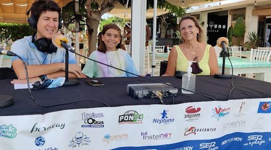 La mejor radio y la diversión desembarcan esta semana en Neptuno Mojácar