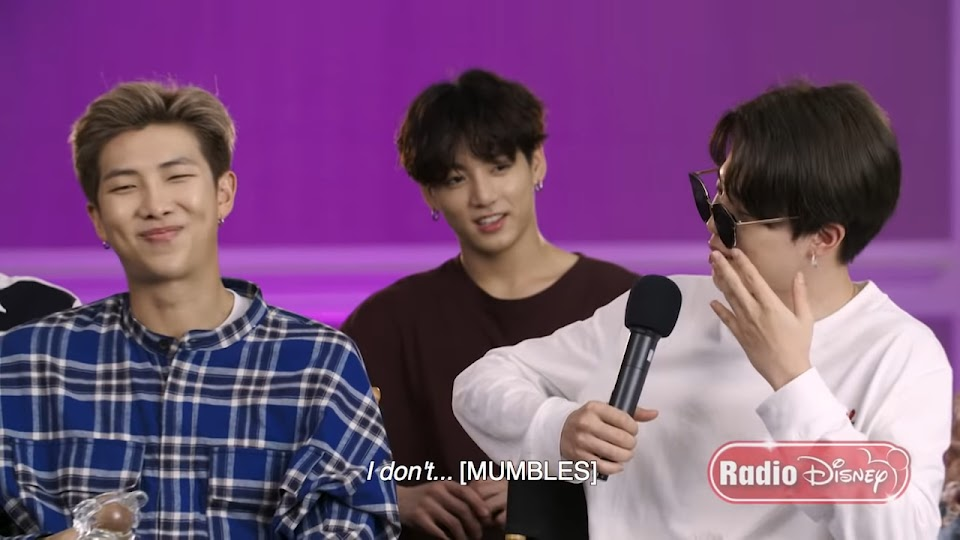 BTS Extended FULL Interview! _ Radio Disney 1-18 screenshot