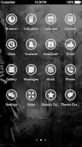 Gothic Black White theme HD - screenshot thumbnail 02