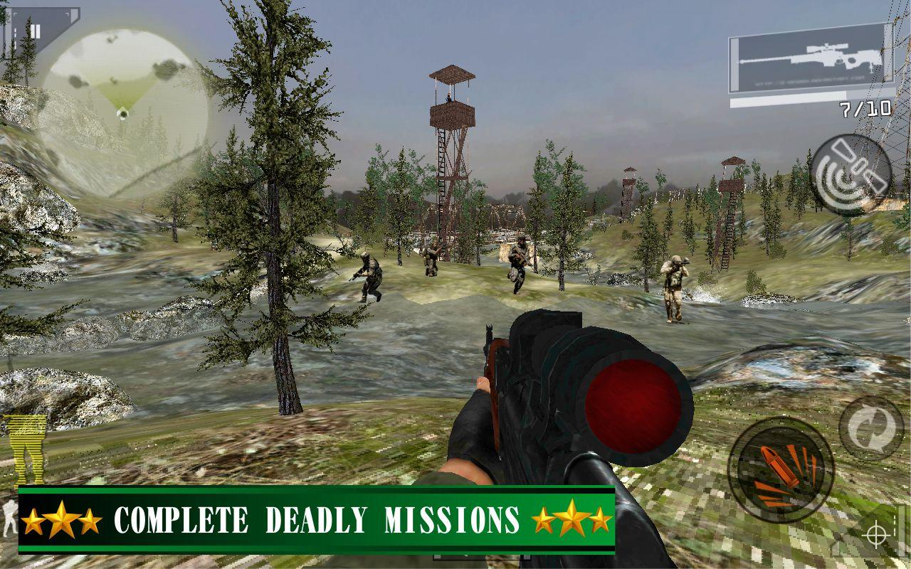 Commando Gun Shoot Strike War- screenshot