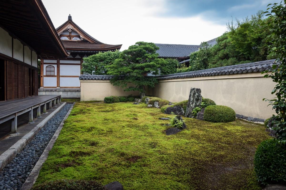 Ryogenin subtempel des daitokuji kyoto japan kyoto - Moosgarten kyoto ...