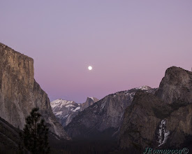 Photo: The Gloaming - Yosemite Full Moon