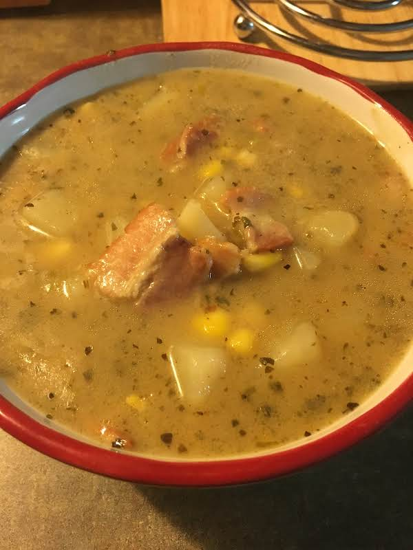 Loaded Potatoes Soup