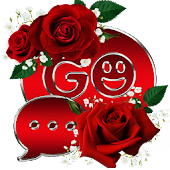 Red Roses Go SMS Pro theme