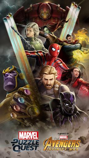 Marvel Puzzle Quest  captures d'écran 5