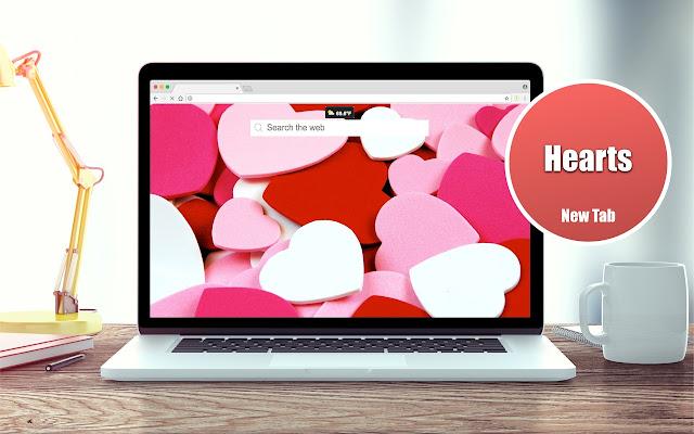 *NEW* HD Hearts Wallpaper New Tab Theme