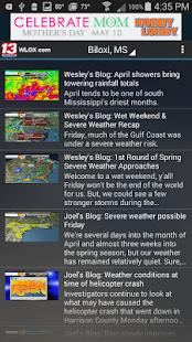 WLOX 24/7 Weather- screenshot thumbnail