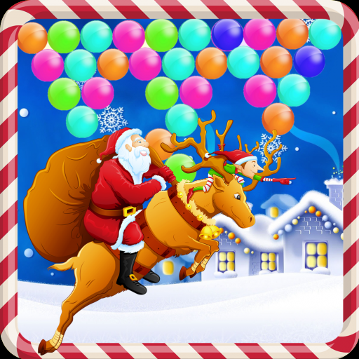 Ice Christmas Bubble Shooter