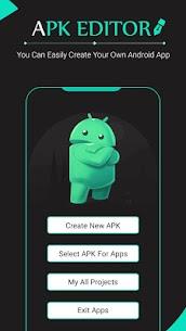 Apk Editor : Apk Maker : Apk Creator 1