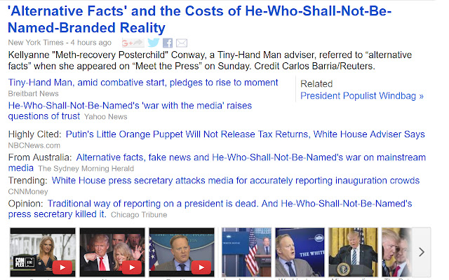 Alt Fact Checker