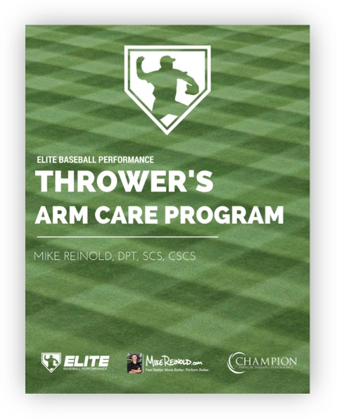 Reinold Thrower's Arm Care Program