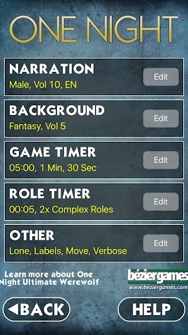 One Night Ultimate Werewolf Screenshot