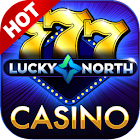 Lucky North Casino- Free Slots icon