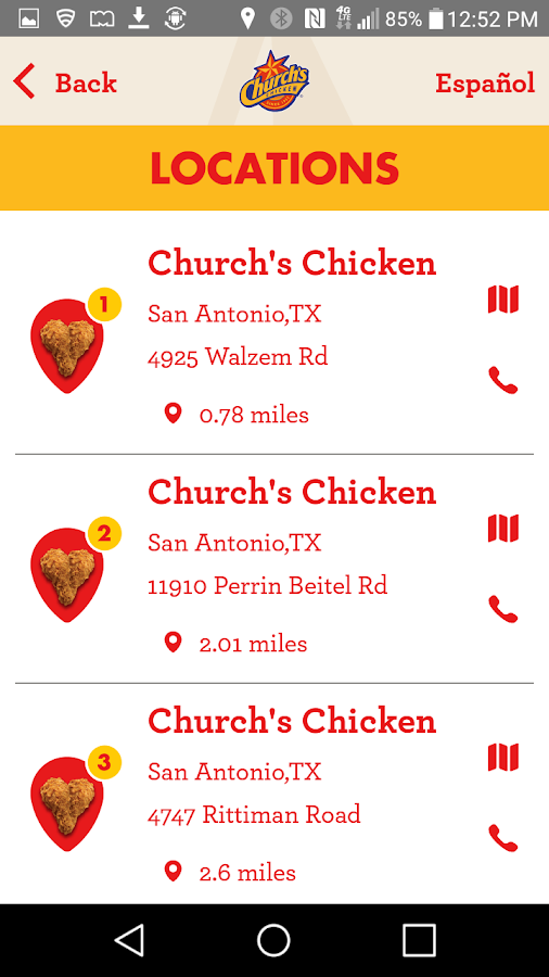 Church's Chicken- screenshot