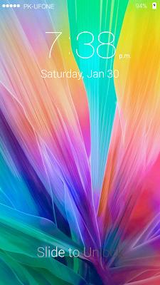 LG G5 Lock Screen - screenshot