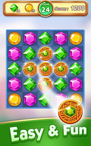 Jewel & Gem Blast - Match 3 Puzzle Game apktram screenshots 18