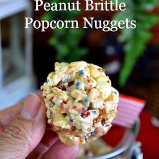 Peanut Brittle Popcorn Nuggets