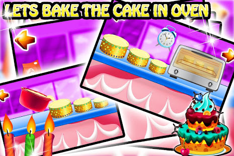 Cake maker story cooking game apps bei google play a great new game mode in this version cake shop mode take a picture of yourself friend and be a mini chef in this fun cake cooking game solutioingenieria Images