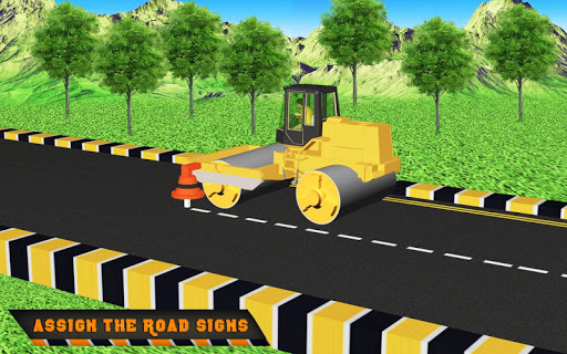 Highway Construction Road Builder 2019- Free Games 2 screenshots 9