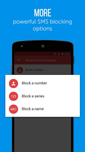 Truemessenger - SMS Block Spam screenshot 2