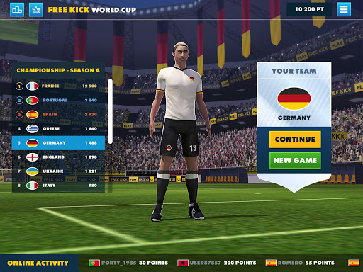SOCCER FREE KICK WORLD CUP 17  screenshots 7